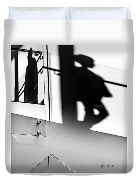 Still Shadows Duvet Cover