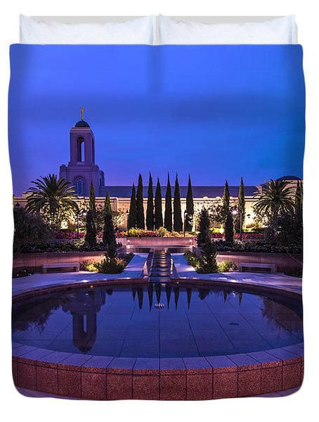 Duvet Cover featuring the photograph Still Small Voice by Dustin  LeFevre