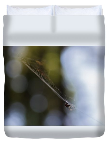 Still Vibration Duvet Cover by Rhys Arithson