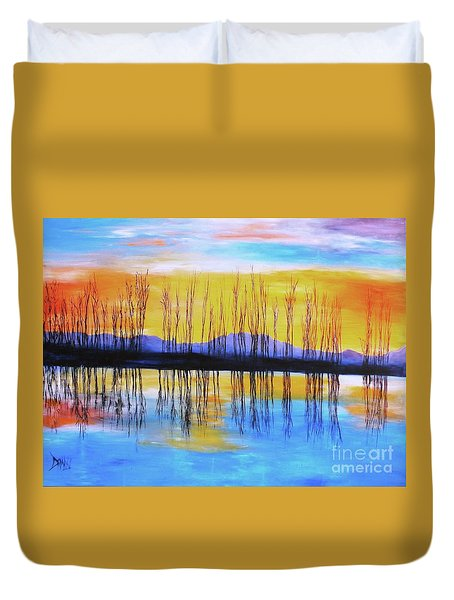 Still Waters From The Water Series  Duvet Cover