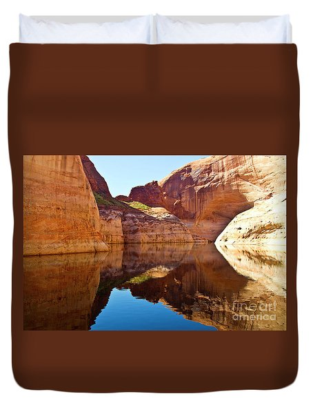 Still Waters Duvet Cover by Kathy McClure