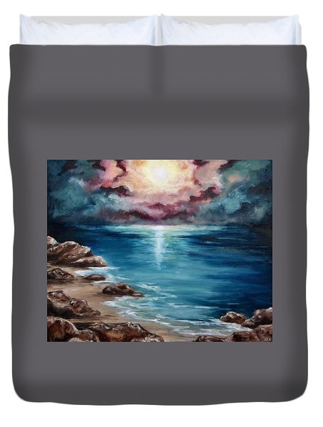 Still Waters Run Deep Duvet Cover