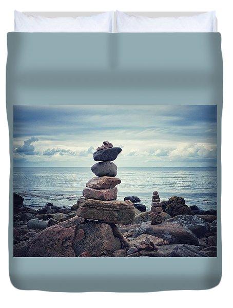 Still Zen Duvet Cover