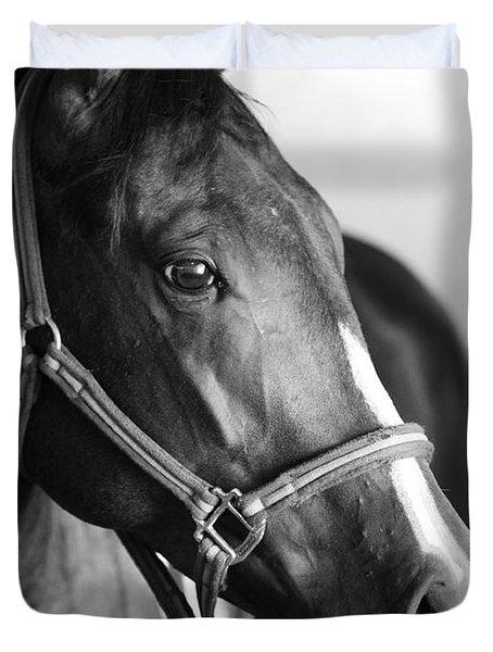 Horse And Stillness Duvet Cover