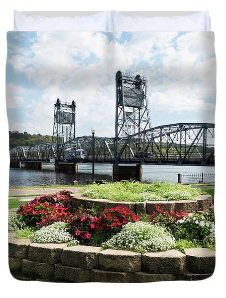 Stillwater And The Mississippi Duvet Cover