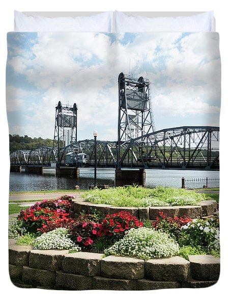 Stillwater And The Mississippi Duvet Cover