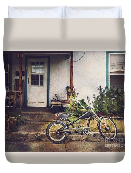 Sting Ray Bicycle Duvet Cover