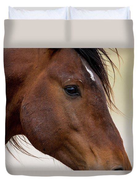 Eye To The Soul Duvet Cover