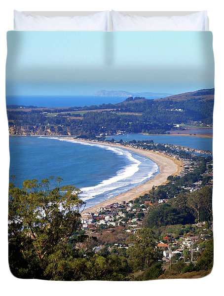 Stinson Beach  Duvet Cover