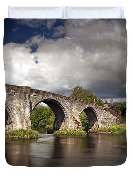 Stirling Bridge Duvet Cover by Grant Glendinning