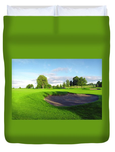 Stirling Golf Club 10th Duvet Cover
