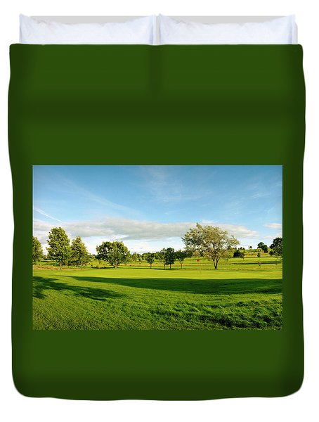 Stirling Golf Club 14th Duvet Cover