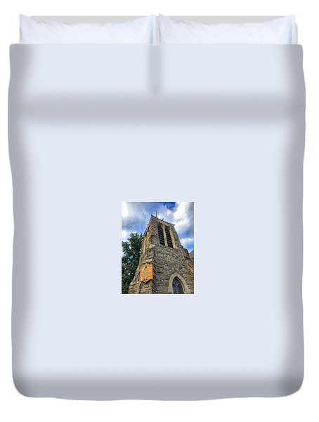 St.michael's Episcopal Cathedral Duvet Cover
