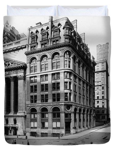 Stock Exchange, C1908 Duvet Cover