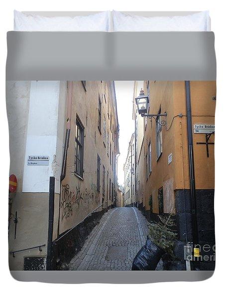 Stockholm Alley Duvet Cover