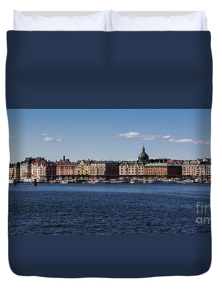 Stockholm Waterscape Duvet Cover