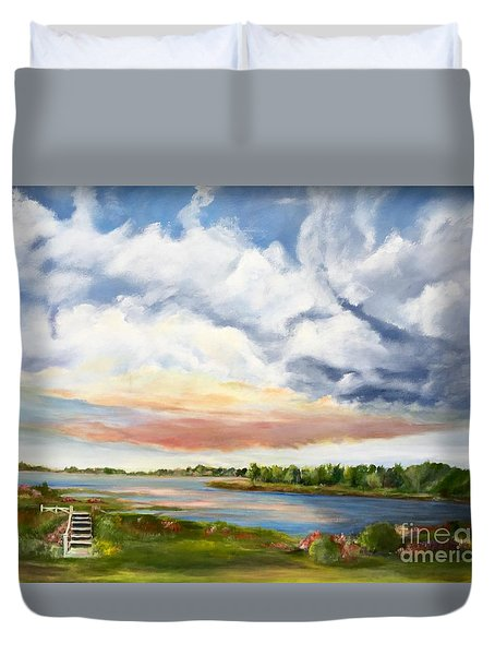 Stoker's  Swift Creek Duvet Cover