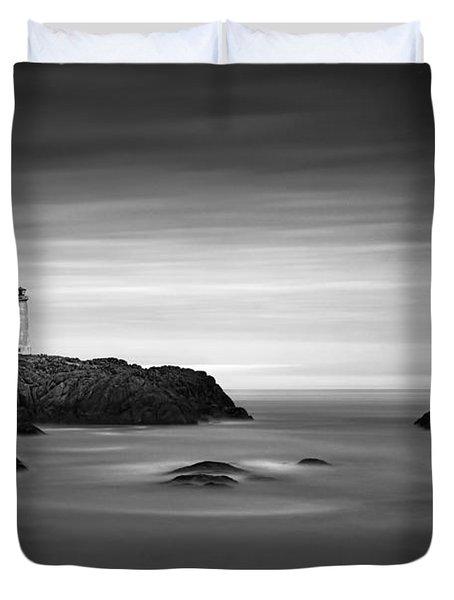 Stokksnes Lighthouse Duvet Cover