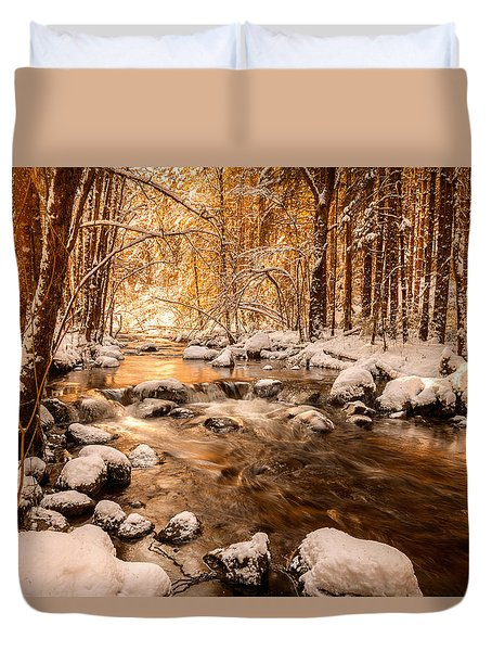 Stolen Beauty Duvet Cover