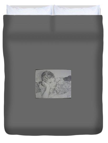 Stone And Bear Duvet Cover