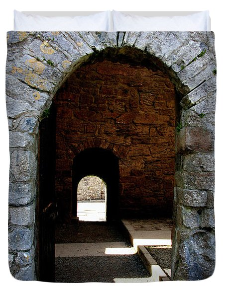 Stone Arch Duvet Cover