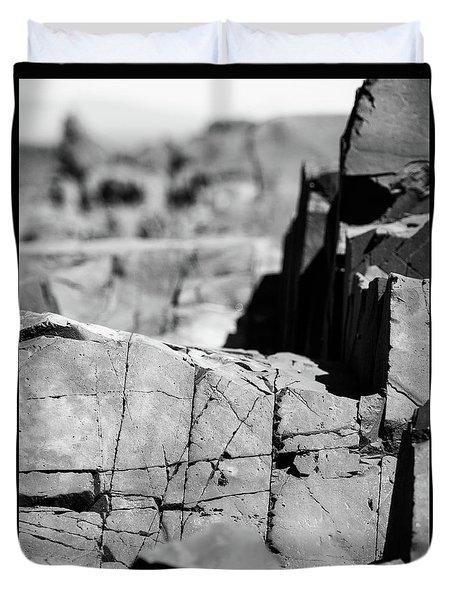 Stone Architecture Duvet Cover