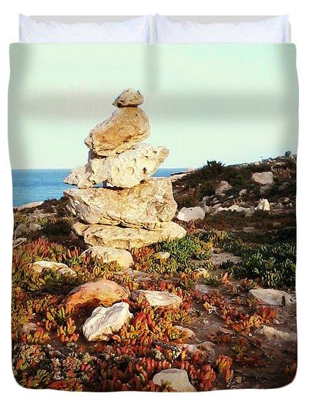 Stone Balance Duvet Cover