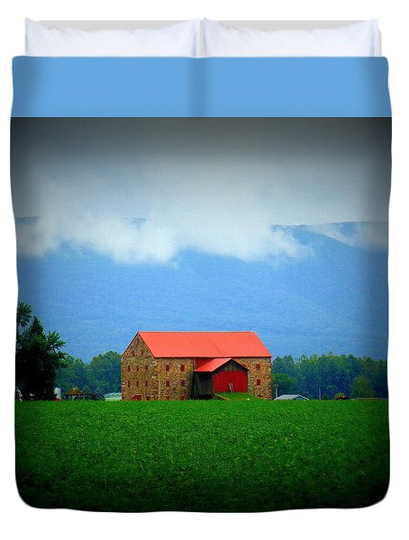 Stone Barn Duvet Cover