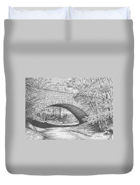 Stone Bridge Duvet Cover