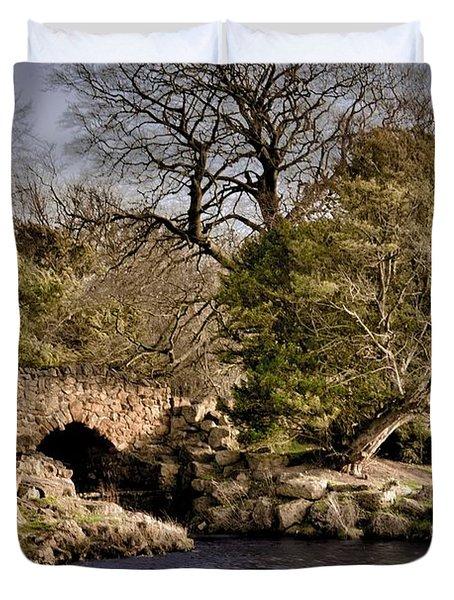 Stone Bridge On The Lake Duvet Cover