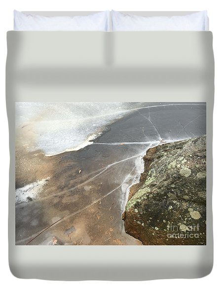 Stone Cold Duvet Cover