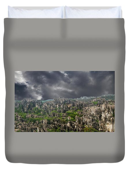 Stone Forest 3 Duvet Cover