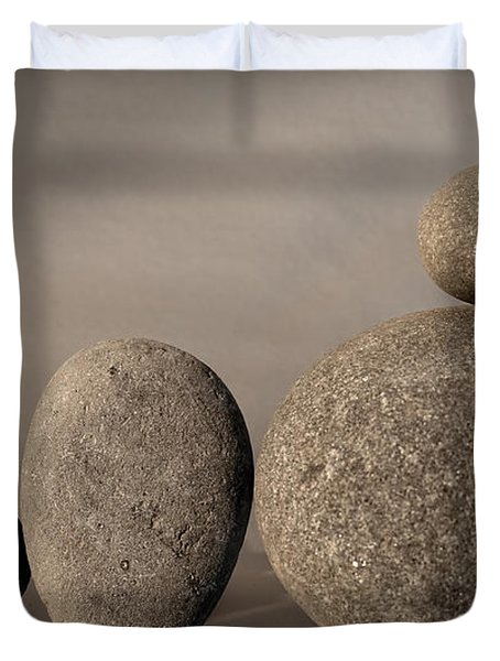 Stone Light Duvet Cover