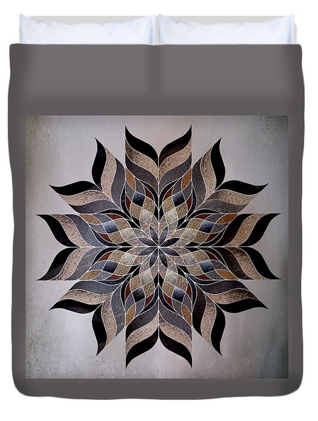 Stone Mandala Duvet Cover