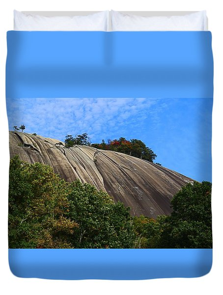 Stone Mountain Duvet Cover