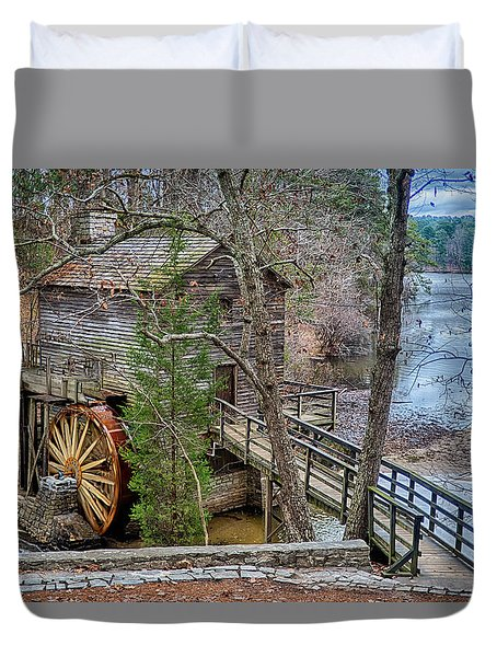 Stone Mountain Park In Atlanta Georgia Duvet Cover