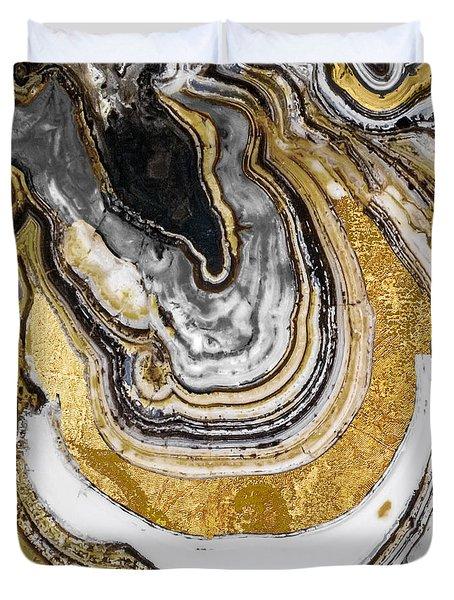 Stone Prose Duvet Cover