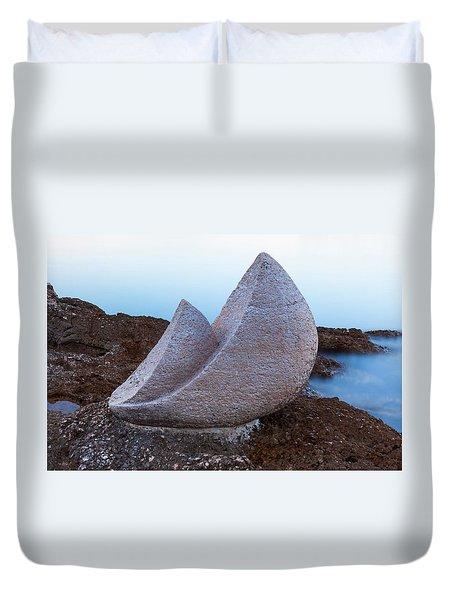 Stone Sails Duvet Cover