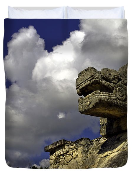 Stone Sky And Clouds Duvet Cover