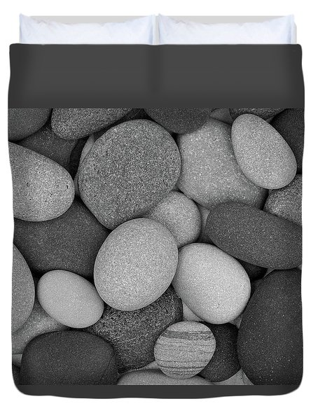 Stone Soup Black And White Duvet Cover
