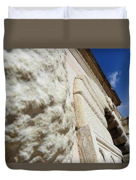 Stone Walls IIi Duvet Cover