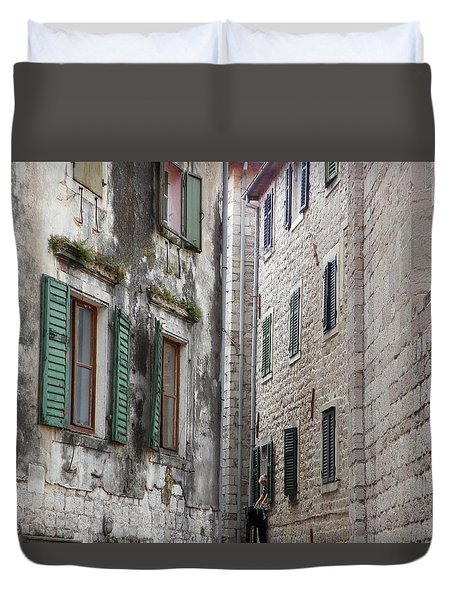 Stone Walls Duvet Cover