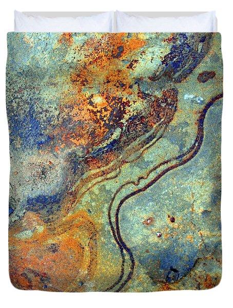 Stone Worlds Duvet Cover by Tara Turner