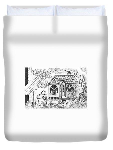 Stonegate Cottage Duvet Cover
