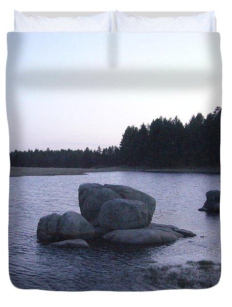 Stones Of Serenity Duvet Cover