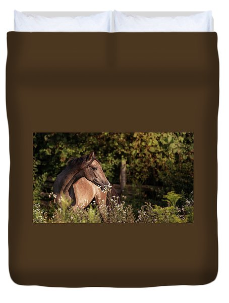 Stop And Smell The Flowers Duvet Cover