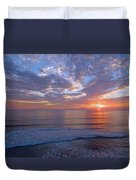 Stop And Think  Duvet Cover by Everette McMahan jr
