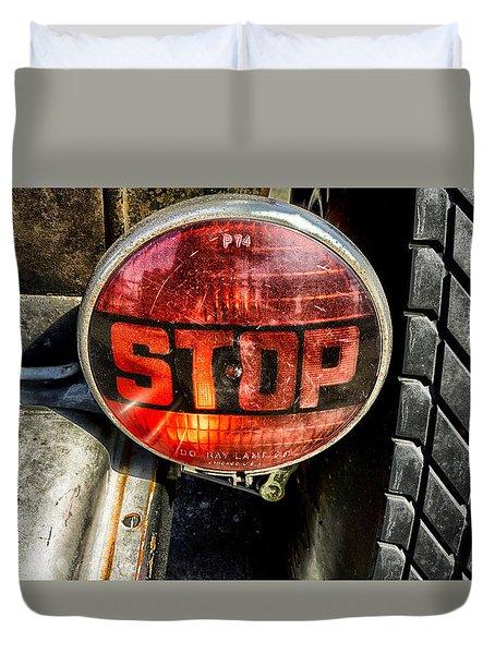 Stop Light Classic Duvet Cover
