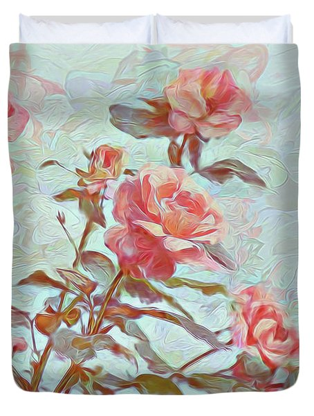 Stop To Smell The Roses Duvet Cover