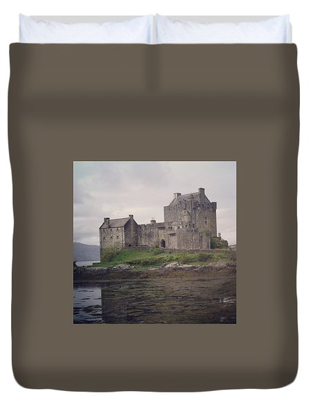 Eileen Donan Castle Duvet Cover